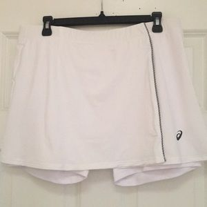 ASICS Brilliant White Golf/Tennis Skort, NWT!